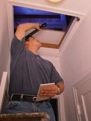 Attic Home Inspection